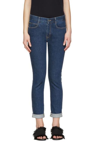 Stella McCartney - Indigo Skinny Boyfriend Jeans