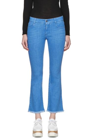 Stella McCartney - Blue Skinny Kick Jeans