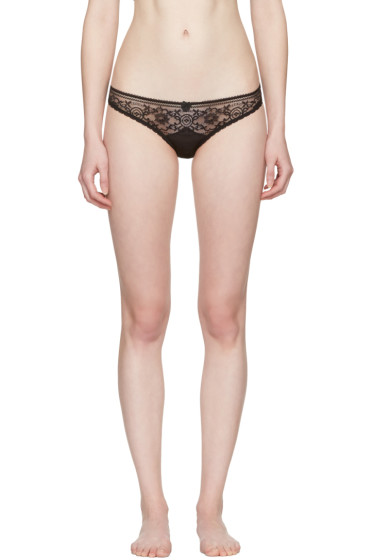 Stella McCartney - Black Ophelia Whistling Bikini Briefs
