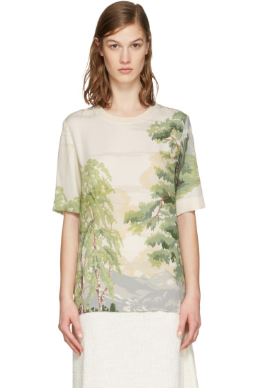 Stella McCartney - Beige Landscape T-Shirt