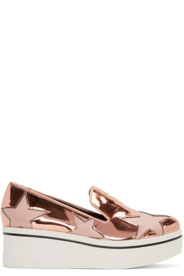 Stella McCartney - Copper Star Platform Binx Sneakers
