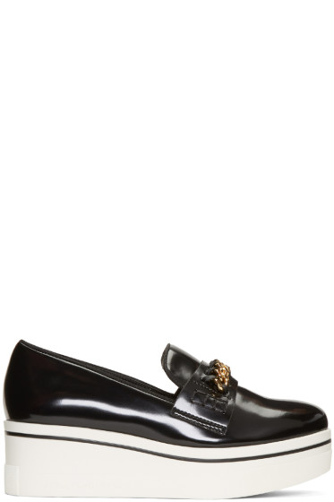 Stella McCartney - Black Binx Loafers