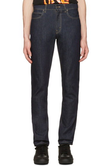 Stella McCartney - Navy Straight Leg Jeans
