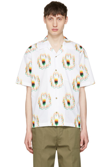 Stella McCartney - White Flower Shirt
