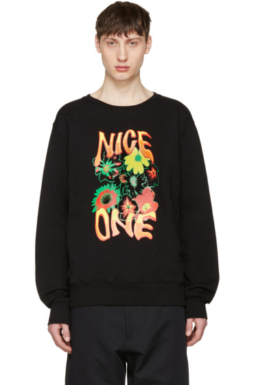 Stella McCartney - Black 'Nice One' Sweatshirt