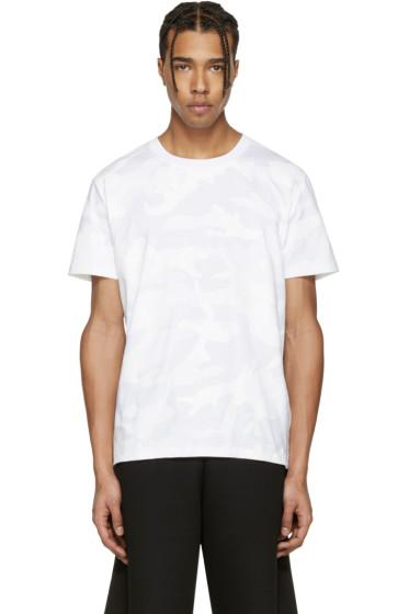 Valentino - Off-White Camo T-Shirt