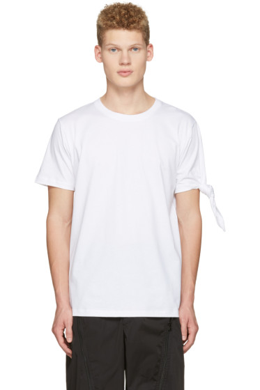 J.W.Anderson - White Single Knot T-Shirt