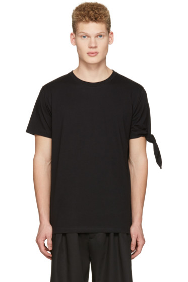 J.W.Anderson - Black Single Knot T-Shirt