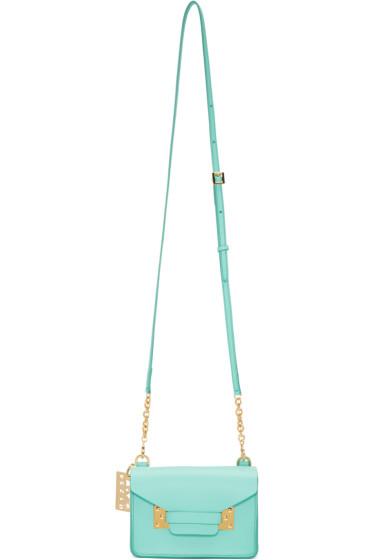 Sophie Hulme - Blue Nano Milner Crossbody Bag