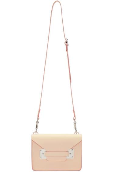Sophie Hulme - Pink Mini Milner Crossbody Bag
