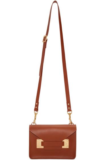 Sophie Hulme - Tan Mini Milner Envelope Bag