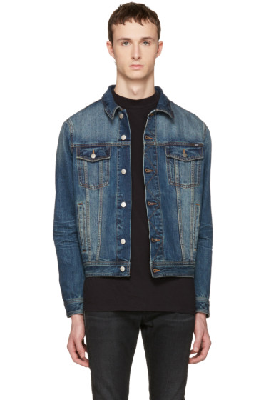 AMI Alexandre Mattiussi - Blue Denim Jacket