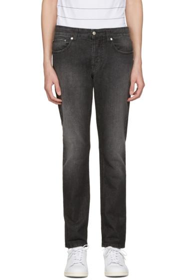 AMI Alexandre Mattiussi - Black Slim Jeans