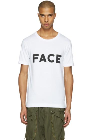Facetasm - White 'Face' T-Shirt