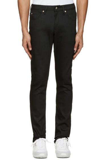 Naked & Famous Denim - Black Skinny Guy Jeans