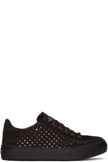 Jimmy Choo - Black Suede Ace Sneakers