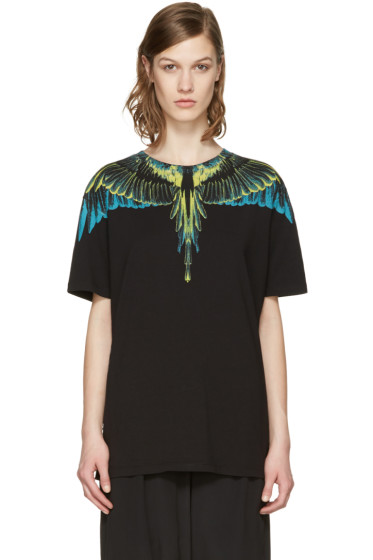 Marcelo Burlon County of Milan - Black Valentin T-Shirt