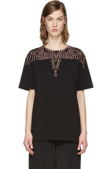 Marcelo Burlon County of Milan - SSENSE Exclusive Black Aleta T-Shirt