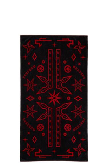 Marcelo Burlon County of Milan - Black Manuel Towel