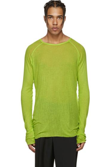 Haider Ackermann - Green Neon Pullover