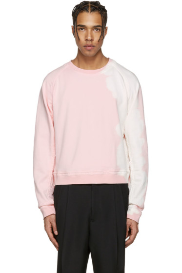 Haider Ackermann - Pink Raw Edge Pullover