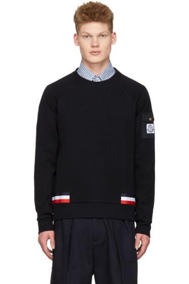 Moncler Gamme Bleu - Navy Arm Pocket Pullover