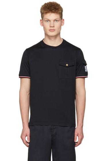 Moncler Gamme Bleu - Navy Pockets T-Shirt