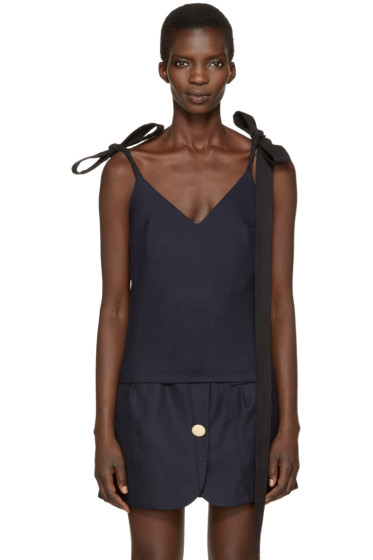 Jacquemus - Navy 'Le Top Bretelles' Tank Top