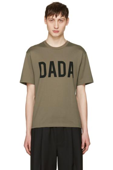 Christian Dada - Green Logo T-Shirt