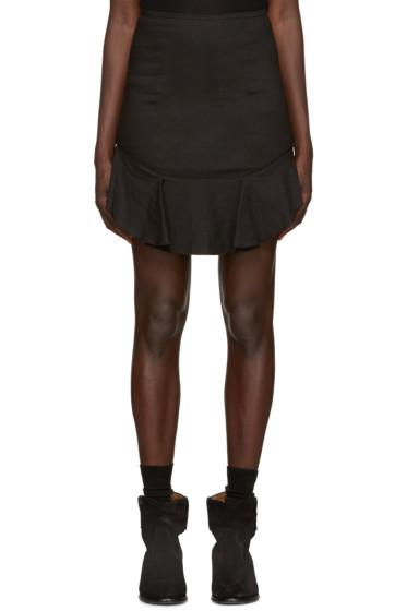 Isabel Marant Etoile - Black New Ruffle Miniskirt