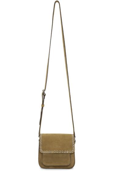 Isabel Marant - Khaki Suede Small Marfa Bag