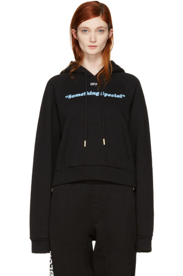 Off-White - Black 'Something Special' Hoodie