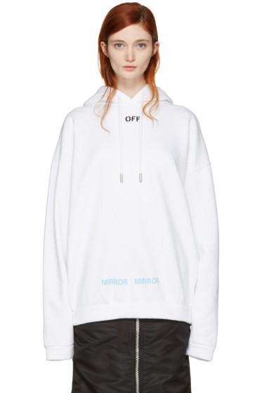 Off-White - White Care 'Off' Hoodie