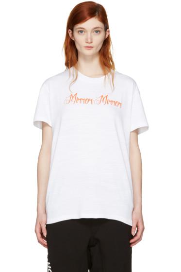 Off-White - White 'Mirror Mirror' T-Shirt