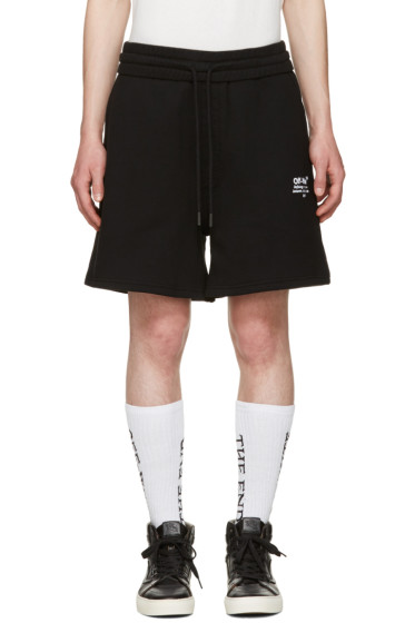 Off-White - Black Off Shorts