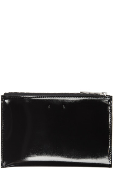 PB 0110 - Black Patent Leather CM 12 Pouch