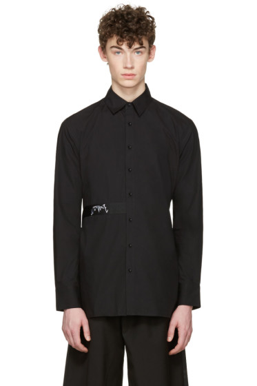 D by D - Black Back Strap Shirt