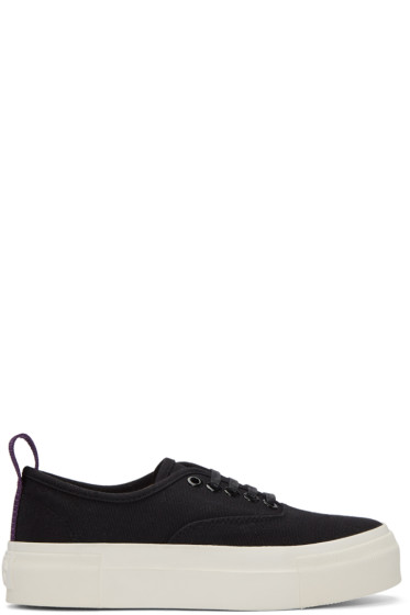 Eytys - Black Canvas Mother Sneakers