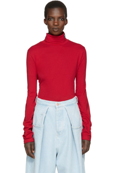 Gosha Rubchinskiy - Red Fila Edition Turtleneck
