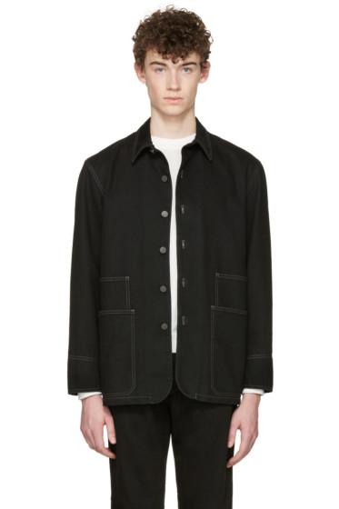 Lemaire - Black Denim Jacket
