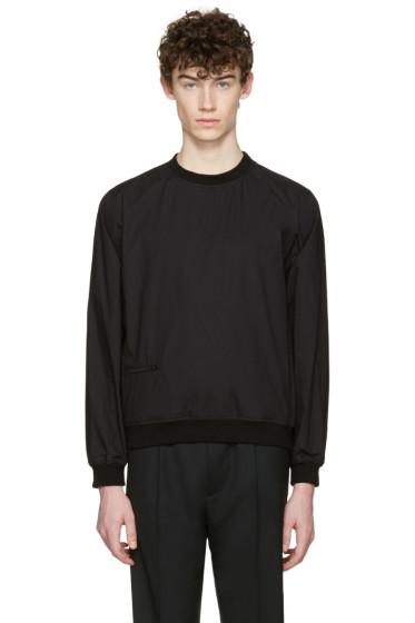Lemaire - Black Poplin Pullover