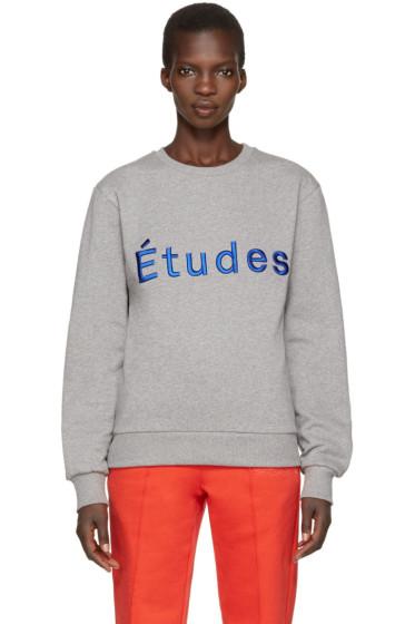 Etudes - Grey Etoile Pullover