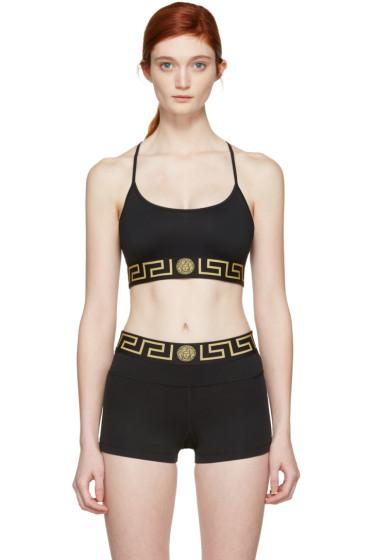 Versace Underwear - Black Medusa Bra