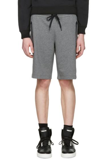 Versace Underwear - Grey Medusa Badge Shorts