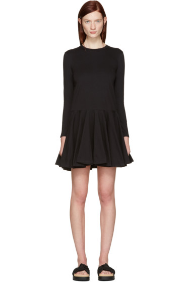 Edit - Black Circle Skirt Dress
