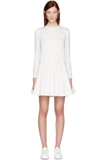 Edit - White Circle Skirt Dress