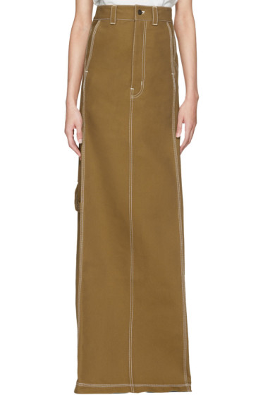 Vetements - Beige Carhartt Edition Push-Up Workwear Skirt