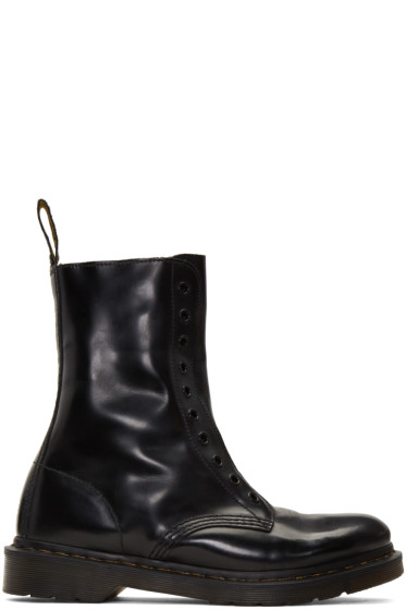 Vetements - Black Dr. Martens Edition 'Borderline' Boots