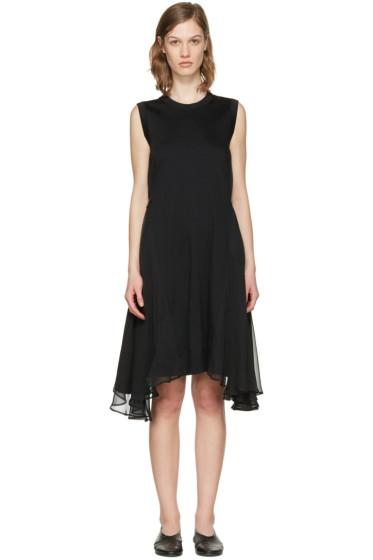 Noir Kei Ninomiya - Black Chiffon Wings Dress