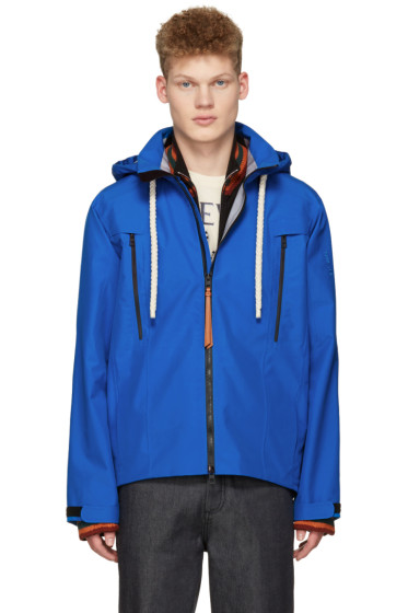 Loewe - Blue Gore-Tex Hooded Jacket